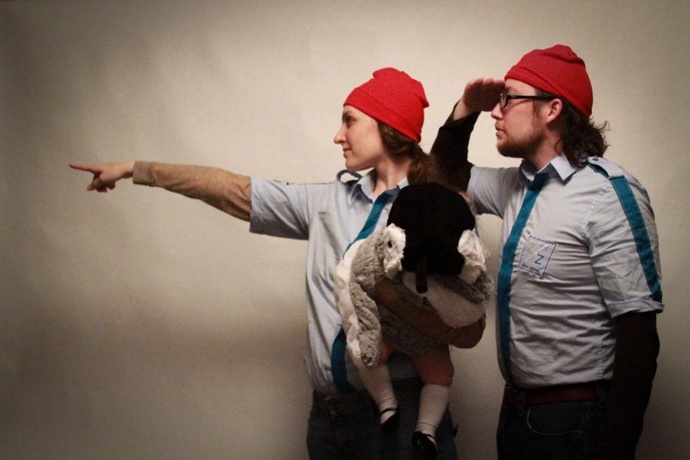 Happy Halloween from Team Zissou
