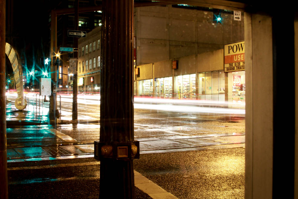 Rainy Portland Long Exposures