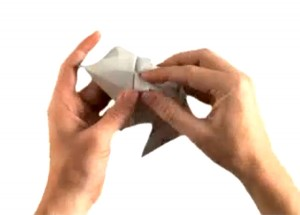 OrigamiToyotaPriusFolding