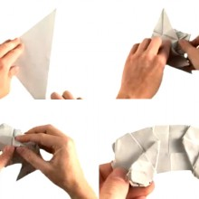 OrigamiToyotaPriusFoldingSeries