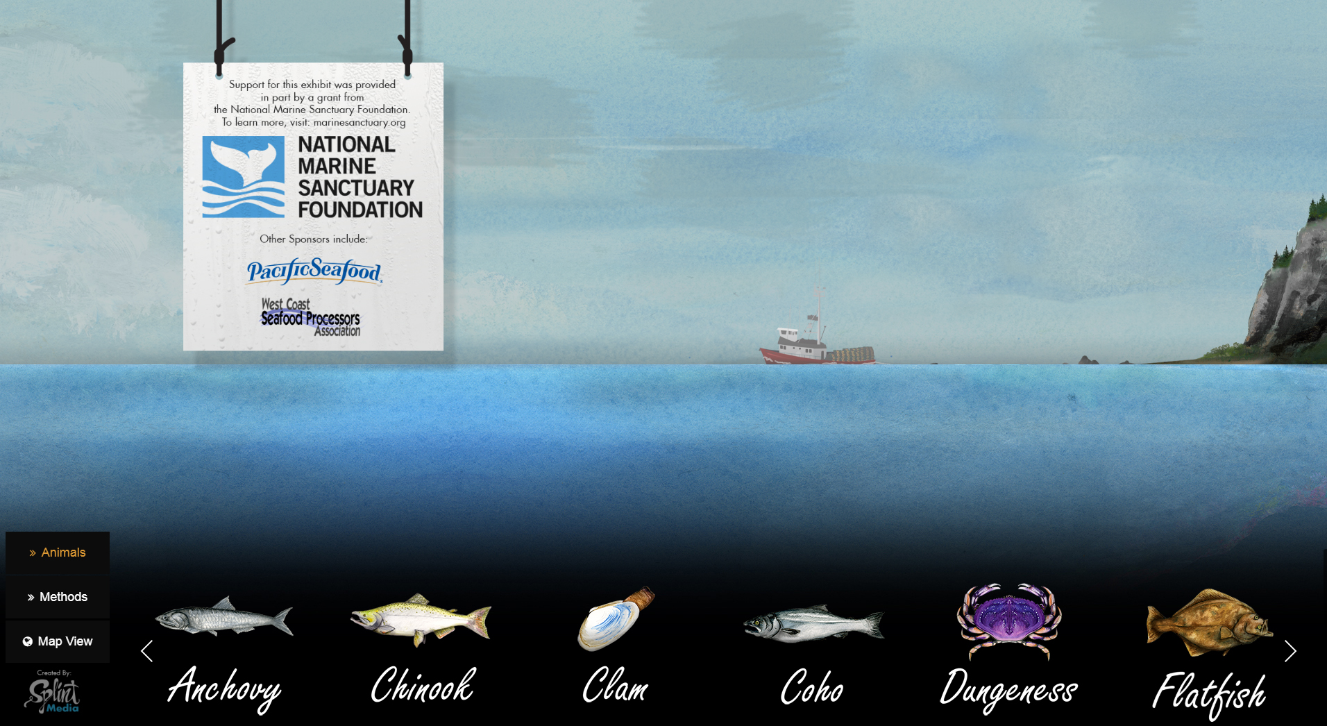 Interactive Fisheries Exhibit